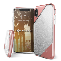 Чехол X-Doria Revel Lux для iPhone X Gold Glitter