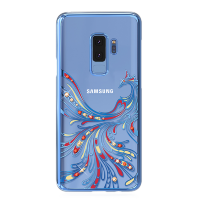 Чехол с Swarovski Kingxbar Flying Series для Galaxy S9 Plus Blue