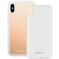 Чехол Momax: Q.Power Pack 4000mAh белый для iPhone X