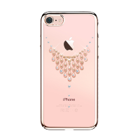 Чехол с Swarovski Kingxbar Starry Sky Rose для iPhone 8/7  Dew