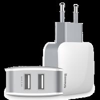 Сетевой адаптер Baseus Letour Dual USB Charger
