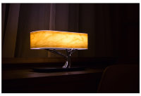 Беспроводная зарядка+Bluetooth акустика+лампа HomeTree Light of the tree B2S Светлая