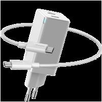 Сетевой адаптер Baseus GaN2 45W Белый (+кабель Type-C)