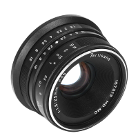 Объектив 7Artisans 25mm F1.8 Sony (E Mount) Чёрный