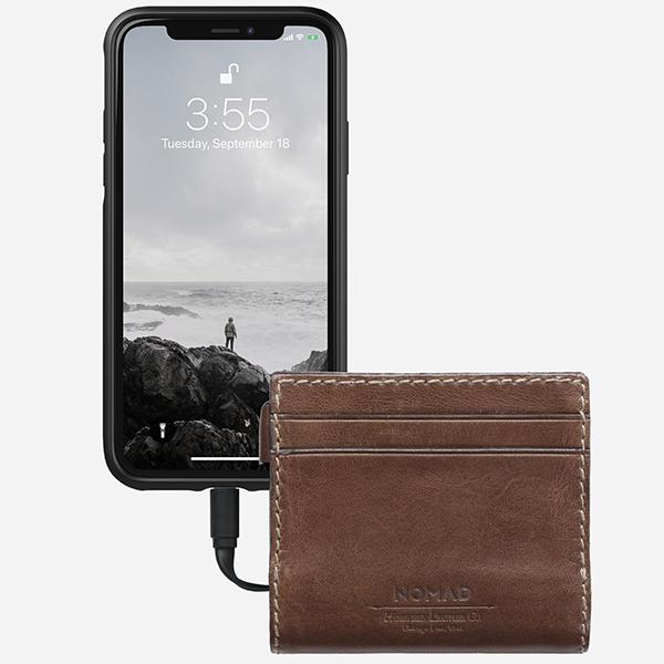 купить внешний аккумулятор Nomad Slim Charging Wallet в интернет