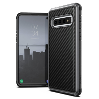 Чехол X-Doria Defense Lux для Samsung Galaxy S10 Plus Чёрный карбон