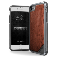 Чехол X-Doria Defense Lux чёрный для iPhone 7