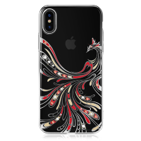 Чехол с Swarovski Kingxbar Flying Series для iPhone X/Xs Silver