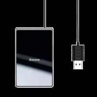Беспроводная зарядка Baseus Card Ultra-thin 15 Вт Черная