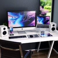 Подставка Satechi Aluminum Desktop Charging Stand Розовое золото