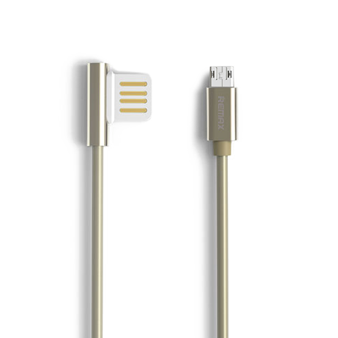 Кабель Remax Emperor USB to Micro USB Золото фото