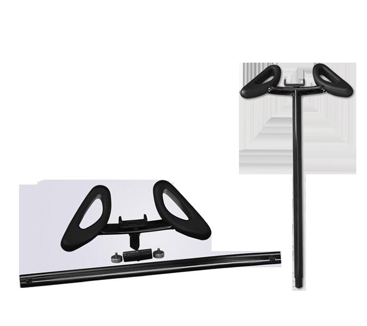 Ручка руль дополнительная удлиненная для Xiaomi Ninebot Mini ЧернаяПрочее<br>Ручка дополнительная для мини сигвея Xiaomi Ninebot Mini позволяет управлять скутером не коленками, а руками, что значительно удобнее     Она изготовлена из тех же материалов и идеально вписывается в дизайн устройства           При этом ручка имеет регулировку длины от 65 до 102 сантиметров. На руле расположился удобный держатель для мобильного телефона<br>
