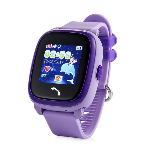 Детские водонепроницаемые GPS часы Wonlex GW400S ФиолетовыеGPS трекеры<br>Детские водонепроницаемые GPS часы Wonlex GW400S Фиолетовые.           Новая модель детских GPS часов от лидера рынка отличается полной герметичностью, подтвержденной сертификатом защищенности IP68, позволяющей погружать часы под воду на глубину 1 метр без каких либо-последствий              Кроме того модель имеет сенсорный, цветной дисплей и удобную магнитную зарядку                     Так же часам не страшны грязь и пыль соответственно.     Помимо этого улучшена эргономика и дизайн                         КНОПКА SOS  Для экстренной ситуации ребенку достаточно нажать одну тревожную кнопку                ОТСЛЕЖИВАНИЕВ любой момент времени с высокой точностью вы можете отследить местоположение вашего ребенка с компьютера, смартфона или планшета, а так же историю его передвижений                ЗВОНКИВ любой момент времени вы можете поговорить с вашим чадом, совершив звонок прямо на часы, которые имеют динамик и микрофон. Кроме того, вы можете без уведомления ребенка послушать что происходит вокруг него. Так же ребенок может связаться с вами сам. На кнопку 1 программируется телефон мамы, на кнопку 2 - папы например                ФИТНЕС БРАСЛЕТКроме того часы наделены функциями фитнес браслета: они подсчитывают количество пройденных шагов, сожженных калорий и качество сна малыша     Если ребенок решит снять часы с руки, вы немедленно получите уведомление. Если настроен маршрут (есть и такая возможность), вы так же получите уведомление в случае значительного отклонения от него. В купе с невероятно демократичной ценой, вы попросту не найдете лучший вариант на рынке. Этим объясняется успех данной модели                 ГАРАНТИЯKremlinstore является официальным поставщиком компании Wonlex на территории Российской Федерации. На все продукты компании распростаняется гарантия 12 месяцев с момента покупки.              ХАРАКТЕРИСТИКИ:     GSM частоты: 850/900/1800/1900МГц   магнитная зарядка   сенсорн
