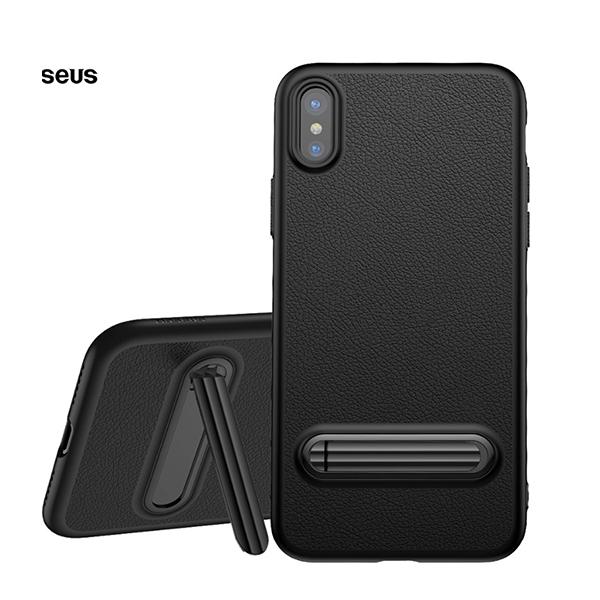 Чехол Baseus Happy Watching Case для iPhone X/Xs Черный
