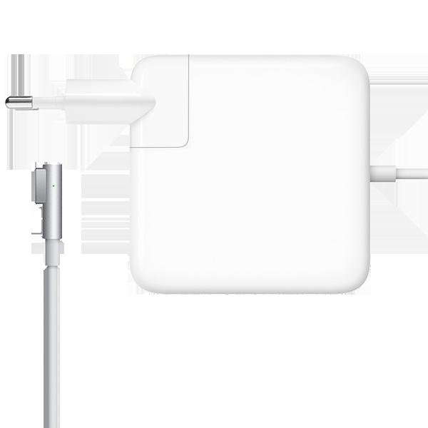 Зарядное устройство Magsafe 1 - 60W для MacBook и Macbook Pro 13Зарядные устройства<br>Зарядное устройство для ноутбуков от Apple является аналогом оригинального как по внешнему виду (отсутствует только логотип Apple на корпусе), так и по функционалу        Данная модель предназначена для Macbook Pro до 2012 года выпуска        Если используется адаптер более высокой мощности, а не адаптер из комплекта поставки, компьютер не заряжается быстрее и функционирует точно так же, как при подключении адаптера из комплекта поставки<br>