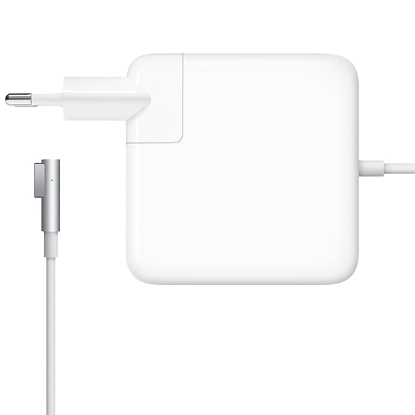 Зарядное устройство Magsafe 1 - 85W для MacBook и Macbook Pro 15 и 17Зарядные устройства<br>Зарядное устройство для ноутбуков от Apple является аналогом оригинального как по внешнему виду (отсутствует только логотип Apple на корпусе), так и по функционалу   Данная модель предназначена для Macbook Pro 15 до 2012 года выпуска   Если используется адаптер более высокой мощности, а не адаптер из комплекта поставки, компьютер не заряжается быстрее и функционирует точно так же, как при подключении адаптера из комплекта поставки<br>