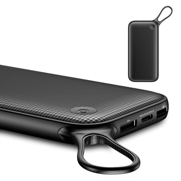 Внешний аккумулятор Baseus Powerful QC3.0 Dual Input 20000mAh Чёрный фото