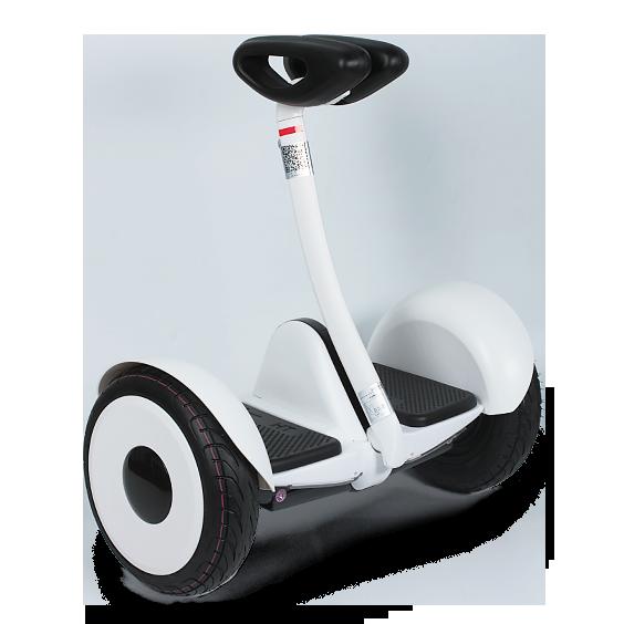 Гироскутер Smart Balance M1 ROBOT БелыйСигвеи<br>Минисигвей сделан по образу и подобию     Ninebot Mini.    Номинальная мощность двигателей 700 Вт и надёжный аккумулятор позволяют скутеру разогнаться до 16 км/ч, и быть в пути от 3 до 5 часов, проехав целых 22км. Максимальный преодолеваемый угол подъёма у гироскутера около 15°, что позволяет с легкостью взбираться в горку             Чтобы освоить езду на гироскутере не понадобится много времени - всего лишь несколько минут практики в день, после которых вы сможете почувствовать в себе полную уверенность для поездок по городу.        Кроме этого, в скутере есть датчики автоматического освещения и светодиоды, отображающие сигналы торможения и поворота. Они позволят вам без волнения ездить в любое время суток. Яркость фонарей как в передней, так и в задней части гидроскутера регулируется вами лично                Как бонус к использованию гироскутера прилагается уникальное приложение MiniRobot, предназначенное для смартфонов, благодаря которому вы сможете управлять им в дистанционном режиме. В настройках через приложение можно регулировать ограничение максимальной скорости, рулевой чувствительности, точку горизонта, уровнем освещения фар, изменение цвета ходовых огней и др., или даже заблокировать                 Технические характеристики:     Bес: 12,8 кг   Максимальная скорость: 15 км/ч   Номинальная мощность двигателей: 2 мотора по 350 Ватт   Максимальная нагрузка: 85 кг   Максимальный преодолеваемый угол подъёма: 15°   Время езды: от 3 до 5 часов   Корпус из магниевого сплава, устойчивый к ударам и вибрациям   Класс защиты от влаги: IP54        Гироскутер имеет 1 год гарантии в нашем магазине<br>
