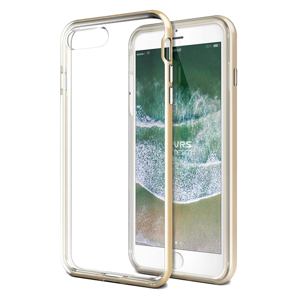 Чехол VRS Design New Crystal Bumper для iPhone 8/7 Plus Золото фото