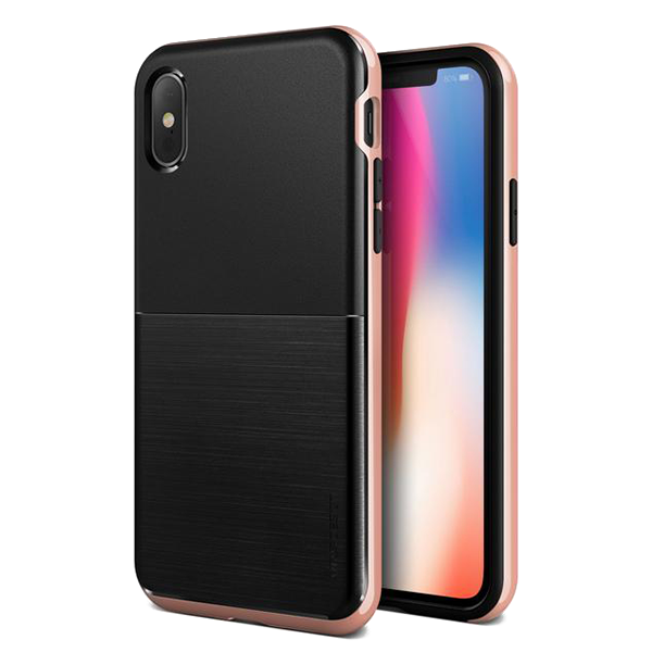 Чехол VRS Design High Pro Shield для iPhone X Rose Gold фото