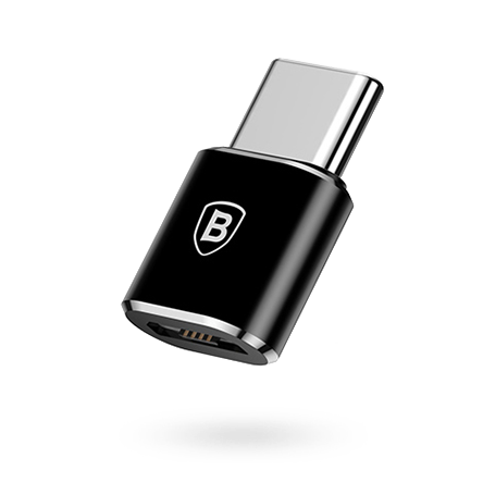 Переходник Baseus Micro USB to Type-C OTG converter