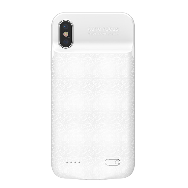 Чехол-аккумулятор Baseus Power Bank Case 3500mah для iPhone X Белый фото