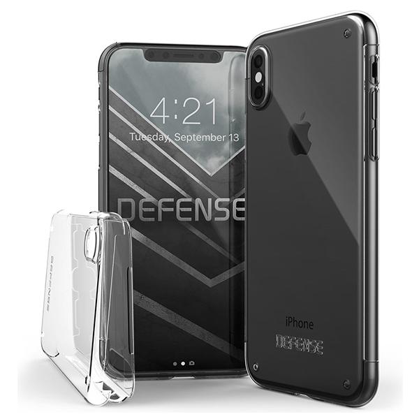X-Doria Defense 360 - кейс для iPhone XЧехлы<br>X-Doria Defense 360 - кейс для iPhone X.       Невидимая защитаВы хотите защитить дорогостоящий флагман от Apple, но не хотите портить его внешний вид и увеличивать габариты? Тогда X-Doria Defense 360 для вас. Незаметный кейс из прозрачного поликарбоната толщиной 0.35мм сзади и каленым стеклом с плотностью 9H спереди полностью закрывает iPhone X со всех сторон          Характеристики:     материалы: поликарбонат, стекло 9H   совместимость: iPhone X<br>