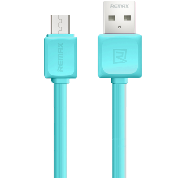 Кабель Remax Fleet micro USB to USB Голубой