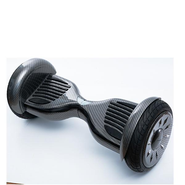 Гироскутер Smart Balance 10.5 Premium (APP+AUTOBALANCE) КарбонЭлектротранспорт<br>Новый гироскутер с большими 10-дюймовыми колесами и может проехать не только по ровной поверхности, но и по небольшому бездорожью. Крутой современный дизайн, и не только. Новая материнская плата от TATAO имеет полезную функцию самобалансировки. То есть когда вы сойдете или спрыгните с него на ходу, он не покатится как раньше, а стабилизируется самостоятельно. Кроме того бесплатное приложение позволит вам отслеживать скорость, маршрут и многое другое прямо со своего смартфона.       Он имеет моторы мощностью 350 Ватт каждый, аналогичные тем что устанавливаются в сигвеи xiaomi ninebot mini. Гироскутер способен разогнаться до 18 километров в час и запас хода составляет около 20 километров (аккумуляторы емкостью 4.4Ah 36V)              Встроенные колонки позволяют прокачать настроением поездку, соединяясь со смартфоном по Bluetooth          ХАРАКТЕРИСТИКИ:     колеса 10 дюймовсамобалансировка   запас хода 20км (аккумулятор 4.4Ah 36v)   2 мотора по 350 Ватт (аналогичные с xiaomi ninebot mini)   скорость до 18 км/час   bluetooth колонкибесплатное приложение для iOs и Android   вес 12.5кг, размеры 71х35х34см<br>