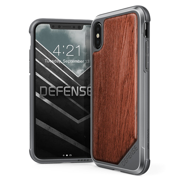 X-Doria Defense Lux - кейс для iPhone X Rose Wood