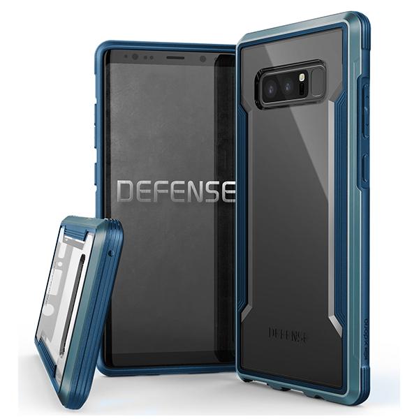 X-Doria Defense Shield - противоударный кейс для Galaxy Note 8 Синий