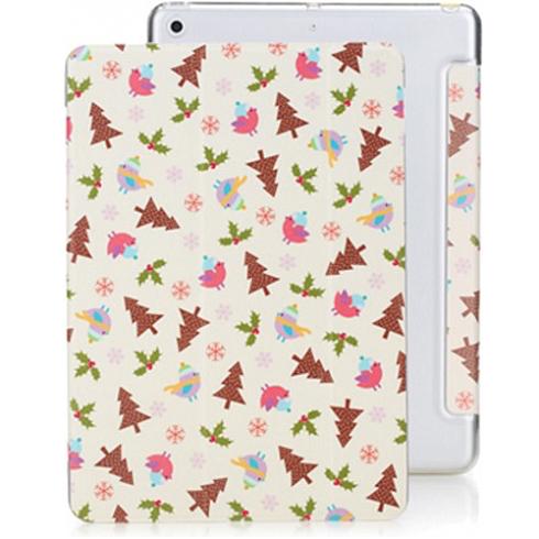 Rock Annes Garden - чехол для iPad Pro 10.5 (2017) WhiteЧехлы<br>Тонкий чехол в классическом форм-факторе книжка имеет магнит, встроенный в обложку, автоматически усыпляет и пробуждает iPad при закрытии/открытии        Обложка-трансофрмер, образует удобную подставку при складывании с двумя различными углами наклона              Задняя стенка выполнена из тонкого, но достаточно прочного пластикового поликарбоната        Обложка же - из высококачественной экокожи с принтом                ХАРАКТЕРИСТИКИ     совместимость: iPad Pro 10.5 дюймов 2017 года   материалы: поликарбонат, экокожа   встроенный магнит, режимы подставки<br>