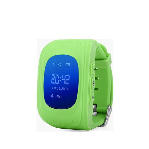 Детские GPS часы трекер Wonlex Q50 ЗеленыеGPS трекеры<br>Wonlex Q50 - самая популярная модель детских GPS часов на Российском рынке в 2016 году и давайте рассмотрим почему        Во-первых яркий и броский дизайн, который не оставит равнодушным ни одного ребенка. Большой LCD дисплей отображает текущее время, дату, день недели, сигнал сотовой сети. Для отслеживания ребенка необходимо установить micro sim карту с положительным балансом на счету. Разумеется меню часов и инструкция переведены на русский язык. Часы являются водостойкими и не боятся душа и дождя. Итак давайте рассмотрим функционал:                ОТСЛЕЖИВАНИЕВ любой момент времени с высокой точностью вы можете отследить местоположение вашего ребенка с компьютера, смартфона или планшета, а так же историю его передвижений       ЗВОНКИВ любой момент времени вы можете поговорить с вашим чадом, совершив звонок прямо на часы, которые имеют динамик и микрофон. Кроме того вы можете без уведомления ребенка послушать что происходит вокруг него. Кроме того ребенок может связаться с вами сам. На кнопку 1 программируется телефон мамы, на кнопку 2 - папы например                КНОПКА SOSДля экстренной ситуации ребенку достаточно нажать одну тревожную кнопку          ФИТНЕС БРАСЛЕТКроме того часы наделены функциями фитнес браслета: они подсчитывают количество пройденных шагов, сожженных калорий и качество сна малыша              Если ребенок решит снять часы с руки, вы немедленно получите уведомление. Если настроен маршрут (есть и такая возможность), вы так же получите уведомление в случае значительного отклонения от него        В купе с невероятно демократичной ценой, вы попросту не найдете лучший вариант на рынке. Этим объясняется успех данной модели              ГАРАНТИЯ kremlinstore является официальным поставщиком компании Wonlex на территории Российской Федерации. На все продукты компании распростаняется гарантия 12 месяцев с момента покупки.<br>