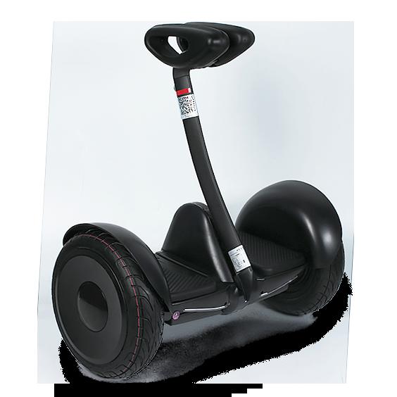 Гироскутер Smart Balance M1 ROBOT ЧерныйСигвеи<br>Минисигвей сделан по образу и подобию     Ninebot Mini.    Номинальная мощность двигателей 700 Вт и надёжный аккумулятор позволяют скутеру разогнаться до 16 км/ч, и быть в пути от 3 до 5 часов, проехав целых 22км. Максимальный преодолеваемый угол подъёма у гироскутера около 15°, что позволяет с легкостью взбираться в горку            Чтобы освоить езду на гироскутере не понадобится много времени - всего лишь несколько минут практики в день, после которых вы сможете почувствовать в себе полную уверенность для поездок по городу.        Кроме этого, в скутере есть датчики автоматического освещения и светодиоды, отображающие сигналы торможения и поворота. Они позволят вам без волнения ездить в любое время суток. Яркость фонарей как в передней, так и в задней части гидроскутера регулируется вами лично              Как бонус к использованию гироскутера прилагается уникальное приложение MiniRobot, предназначенное для смартфонов, благодаря которому вы сможете управлять им в дистанционном режиме. В настройках через приложение можно регулировать ограничение максимальной скорости, рулевой чувствительности, точку горизонта, уровнем освещения фар, изменение цвета ходовых огней и др., или даже заблокировать              Технические характеристики:             Bес: 12,8 кг        Максимальная скорость: 15 км/ч        Номинальная мощность двигателей: 2 мотора по 350 Ватт        Максимальная нагрузка: 85 кг        Максимальный преодолеваемый угол подъёма: 15°        Время езды: от 3 до 5 часов        Корпус из магниевого сплава, устойчивый к ударам и вибрациям        Класс защиты от влаги: IP54                 Гироскутер имеет 1 год гарантии в нашем магазине<br>