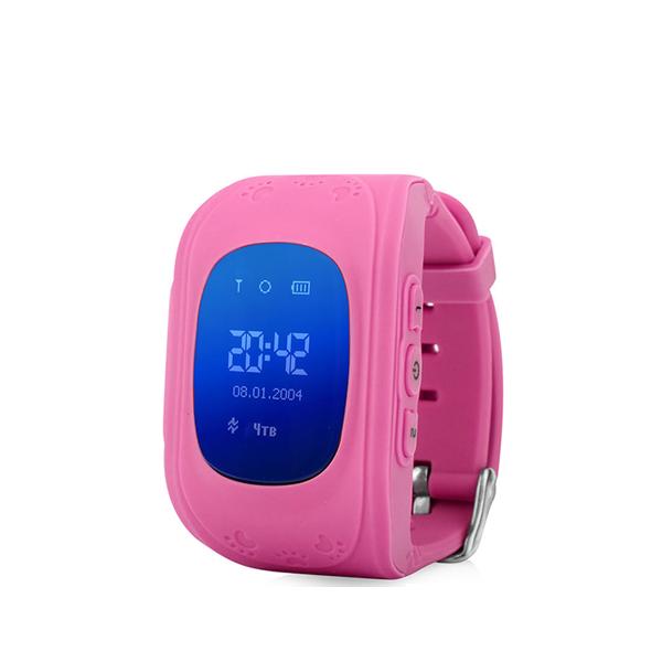 Детские GPS часы трекер Wonlex Q50 РозовыеGPS трекеры<br>Wonlex Q50 - самая популярная модель детских GPS часов на Российском рынке в 2016 году и давайте рассмотрим почему        Во-первых яркий и броский дизайн, который не оставит равнодушным ни одного ребенка. Большой LCD дисплей отображает текущее время, дату, день недели, сигнал сотовой сети. Для отслеживания ребенка необходимо установить micro sim карту с положительным балансом на счету. Разумеется меню часов и инструкция переведены на русский язык. Часы являются водостойкими и не боятся душа и дождя. Итак давайте рассмотрим функционал:                ОТСЛЕЖИВАНИЕВ любой момент времени с высокой точностью вы можете отследить местоположение вашего ребенка с компьютера, смартфона или планшета, а так же историю его передвижений       ЗВОНКИВ любой момент времени вы можете поговорить с вашим чадом, совершив звонок прямо на часы, которые имеют динамик и микрофон. Кроме того вы можете без уведомления ребенка послушать что происходит вокруг него. Кроме того ребенок может связаться с вами сам. На кнопку 1 программируется телефон мамы, на кнопку 2 - папы например                КНОПКА SOSДля экстренной ситуации ребенку достаточно нажать одну тревожную кнопку          ФИТНЕС БРАСЛЕТКроме того часы наделены функциями фитнес браслета: они подсчитывают количество пройденных шагов, сожженных калорий и качество сна малыша              Если ребенок решит снять часы с руки, вы немедленно получите уведомление. Если настроен маршрут (есть и такая возможность), вы так же получите уведомление в случае значительного отклонения от него        В купе с невероятно демократичной ценой, вы попросту не найдете лучший вариант на рынке. Этим объясняется успех данной модели              ГАРАНТИЯ kremlinstore является официальным поставщиком компании Wonlex на территории Российской Федерации. На все продукты компании распростаняется гарантия 12 месяцев с момента покупки.<br>
