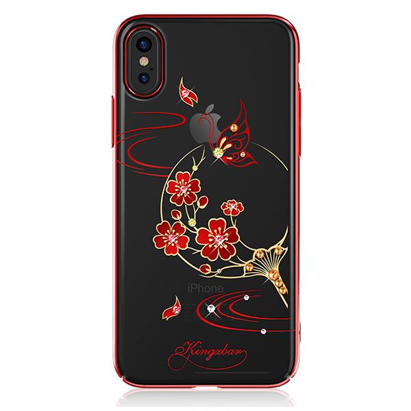 Чехол с Swarovski Kingxbar Exquisite Series для iPhone X Blossom