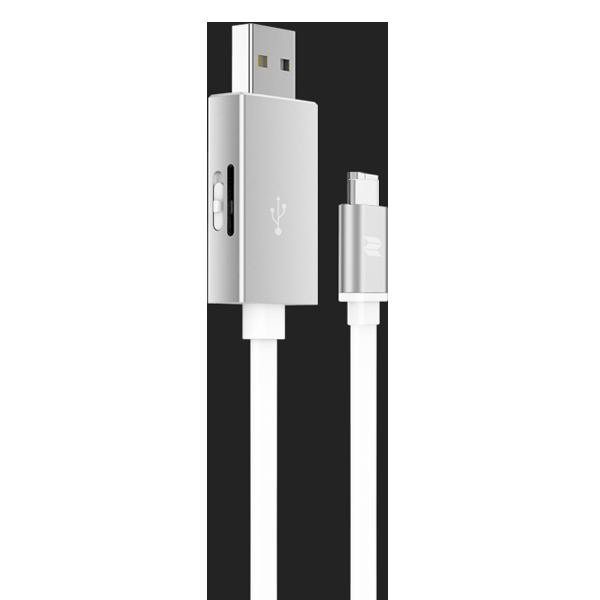 Кабель с карт-ридером Rock Space Type C OTG СереброКабели<br>На первый взгляд аксессуар представляет из себя обычный USB провод. Если даже и так, это очень качественный провод, имеющий металлические, практически неизнашевыемые разъемы и кабель типа лапша, которые значительно лучше обычного противостоит износу. Однако это далеко не все преимущества           Главной изюминкой является наличие разъема для чтения карт памяти типа Micro SD (TF). Вы можете пользоваться файлами не только на ПК, но и на смартфоне, расширив таким образом объем его памяти                   ХАРАКТЕРИСТИКИ:     длина 25 см   вес 15 грамм   разъем Type C to USB   скорость чтения/записи 120/20 Мб/сек.   поддержка карт Micro USB (TF)<br>